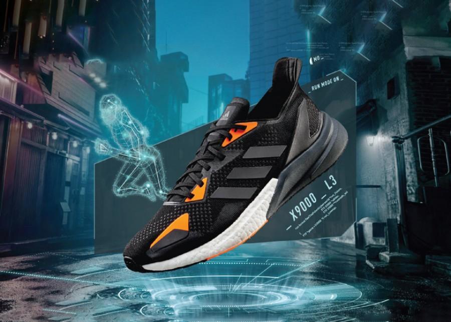 Adidas X9000L3 Black