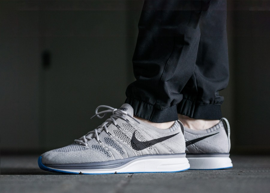 Nike Flyknit Trainer Thunder Grey